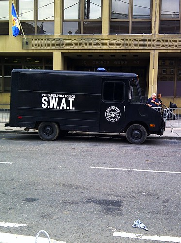 Philadelphia Swat Vehicle in Glasgow