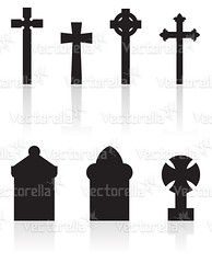 gravestones (Cidepix.com) Tags: old black church cemetery grave graveyard silhouette stone mystery illustration dark dead religious death ancient memorial ruins icons die cross object headstone ghost prayer religion tomb tombstone gothic nobody whitebackground funeral gravestone mysterious horror burial christianity symbols abstracts vector isolated haunt obsolete mortal cidepix