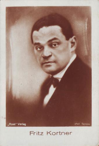 461 Fritz Kortner_Hänsom (Fimlbilder. Tomfilmserie; 461)