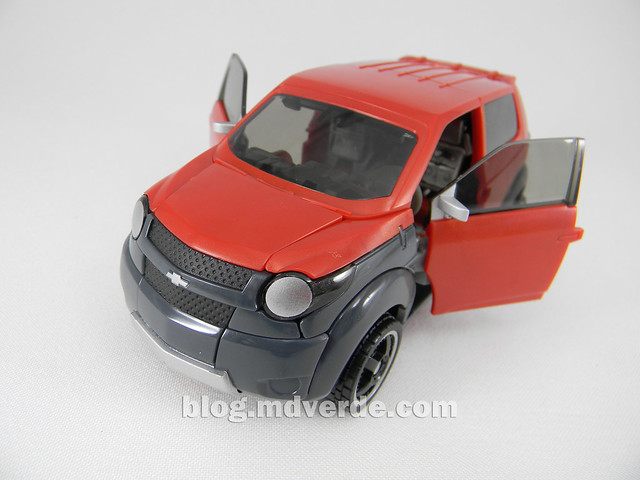 Transformers Mudflap RotF Human Alliance - modo alterno