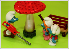 Poisonous (Rigib) Tags: red macro mushroom canon wagon toy miniature saw flash chainsaw explore figure characters 60mm poison smurfs applause snappy schlumpf poisonous pitufo schlümpfe schtroumpf slouchy peyo smurfvillage puffo wbcloudy f140 explore33 img5545 السنافر sassette 蓝精灵 スマーフ 365toyproject šmoulové sanafer ourdailychallenge smurfling