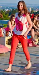 Face & Charm fashion show (The Adventurous Eye) Tags: show woman girl face fashion nikon d charm hora 7000 akce koupaliště facecharm d7000 kraví faceandcharm