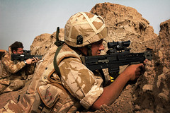T.A (combat_photog) Tags: tom army desert iraq nine johnson royal queens british operation bartlett territorial dpm sa80 lancers telic lsw maysaan