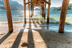Marea baja (Gonzalo M. Molina) Tags: patagonia lake lago pier muelle moreno hdr bariloche