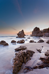 (Edwin_Abedi) Tags: ocean california longexposure sunset seascape color nature colors canon landscape photography photo losangeles scenery rocks waves pacific outdoor scenic scene malibu 5d 1740 elmatador 1740l ef1740mmf4lusm 5dmarkii 5dm2 5dmk2 canon5dmarkii eos5dmarkii