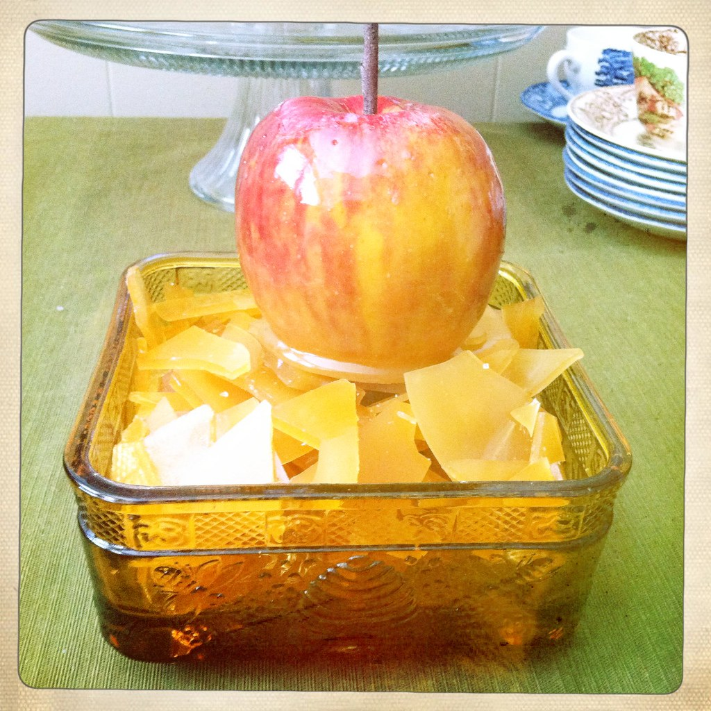 Honey Toffee Apple and Honey Toffee