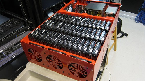 Backblaze 2.0 w/ 45 disks installed - 3