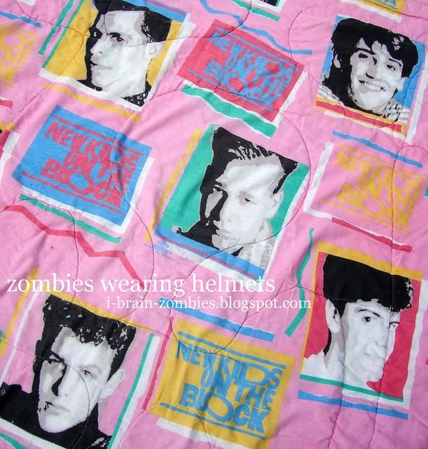 NKOTB pink comforter