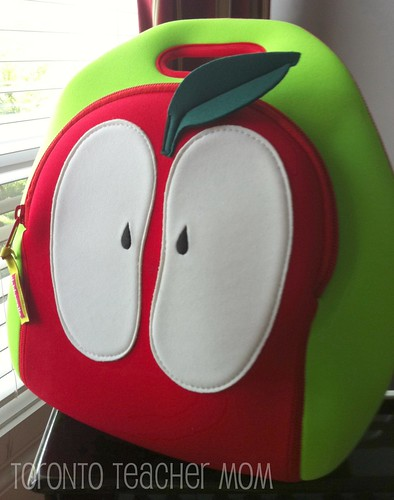 Kids PVC-Free Apple Lunch Bag