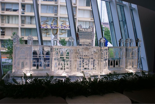 Curzon Hall 2 ice sculpture