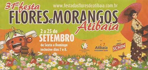 31ª Festa Flores e Morangos ATIBAIA by Minhas Bolsas