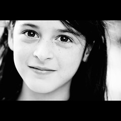 Day Two Hundred and Four (ODPictures Art Studio LTD - Hungary) Tags: girl monochrome smile face canon eos child arc 85mm 365 f18 magyar magyarország 500d fekete fehér mosoly feketefehér orbandomonkoshu stunningphotogpin szkólatábor