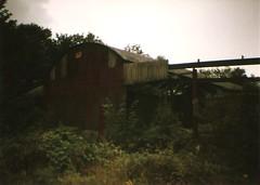 dm - derelict barn (johnnytakespictures) Tags: building abandoned barn lomo lomography farm mini diana derelict expiredfilm derelictbarn matterson dereclition