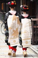 Maiko-han !! (Teruhide Tomori) Tags: japan kyoto traditional event maiko    kimono gion  higashiyama hanamachi ayano   hassaku fumino   earthasia