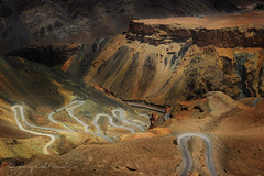 The Winding Road ( DocBudie) Tags: india mountains landscape gorge himalaya slope jk ladakh highaltitude windingroad northindia travelphotography lamayuru northernindia dangerousroad himalayamountains mountainhighway themostdangerousroad mountainslope jammukashmirprovince thelandofbrokenmoon roadfromlehtolamayuru ladakhhighway roadbetweentherockyslopes lamayuruwindingroad jalebibends
