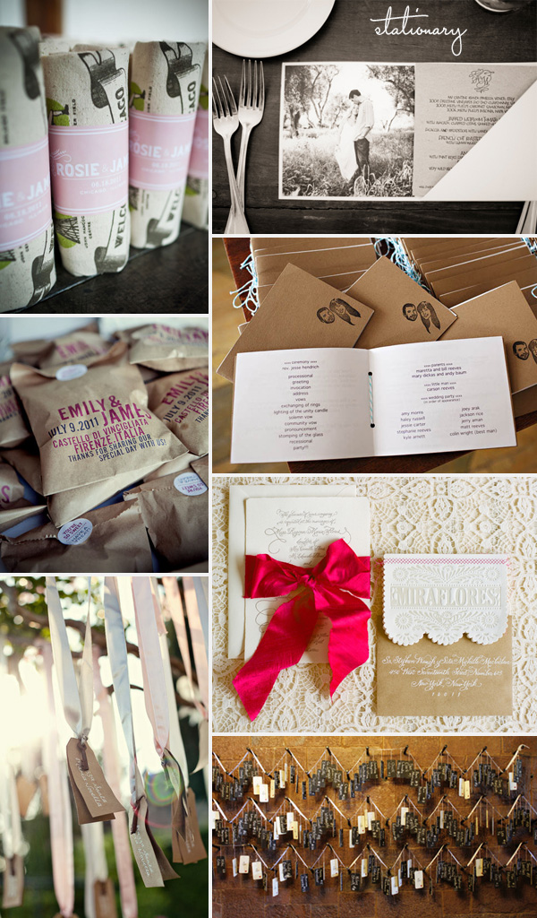 Omaha, Nebraska Wedding Planner stationary
