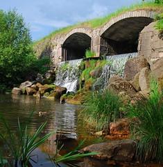 DSC_0342 (Bargais) Tags: bridge nature landscape waterfall latvia latvija kazdanga latural