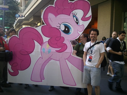 The Tim & the pink pony