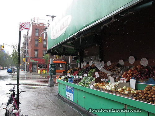 Aftermath of Hurricane Irene in NYC_Open bodega