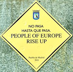 No pasa hasta que pasa. People of Europe rise up