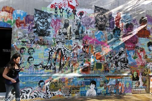 Cabaio Stencil's work on Tegui