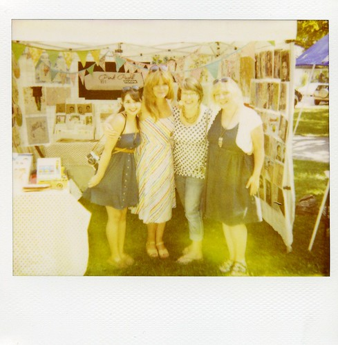 the Girls in Polaroid