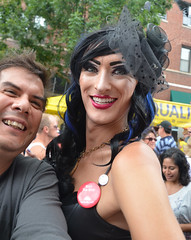 Halsted Street Market Days (tacosnachosburritos) Tags: street party summer chicago festival dancing market days journey transvestite trans swimsuit crossdresser halsted