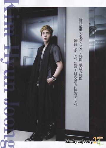 Kim Hyun Joong Asian Place Japanese Magazine