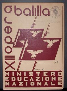 Pagella dell'anno scolastico 1934-1935