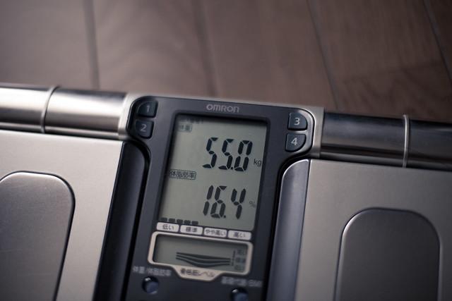 55.0kg 16.4%