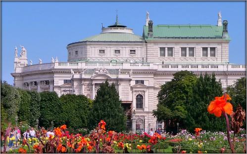 Vienna Burgtheater by Ginas Pics