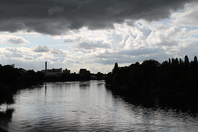 Thames and sky
