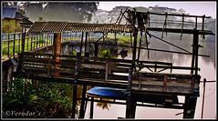 The Old Jetty (VERODAR) Tags: nature nikon village jetty sarawak borneo riverbank oldage kuching kotatinggi bidayuh kampunggiam nikond5000 verodar kampungkelantan