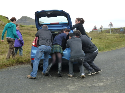 Car Rescue, Quiraing