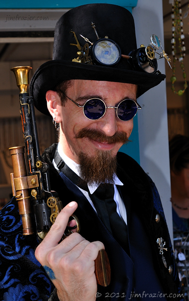 Steampunk Enforcer I