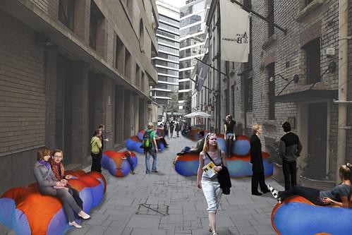 Rebar Bubbleway Laneways 2011