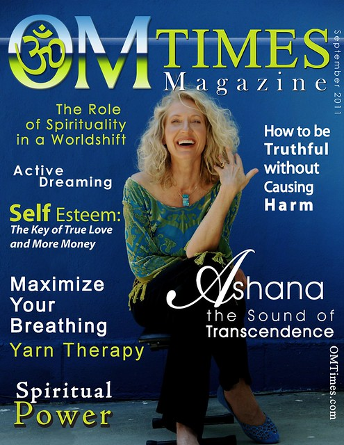 OM Times : September 2011 : Cover - Ashana