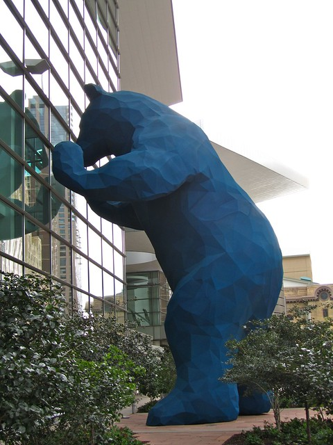 Blue Bear, Denver, Colorado
