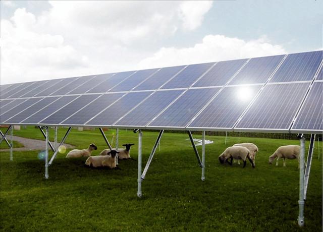 Kee Klamp Solar Panel Install