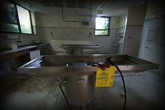 abandoned mortuary (furstyferret81) Tags: abandoned mortuary