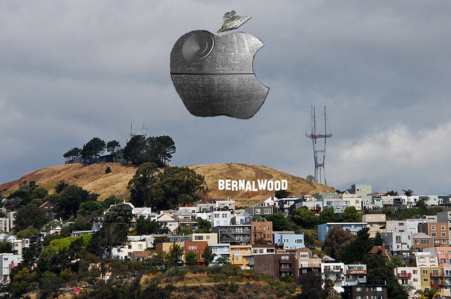 Apple's Death Star Looms over Bernalwood