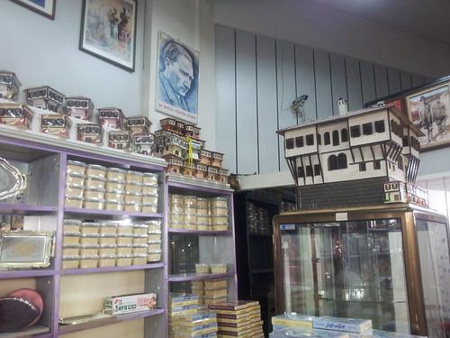Safranbolu édességbolt