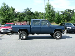 009 (stevenbr549) Tags: chevrolet truck diesel engine chevy swap custom cummins k30