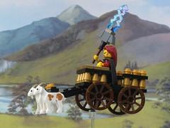 Thor (Thorskegga) Tags: lego god ng thor thunder pagan norse heathen viki asatru heathenry