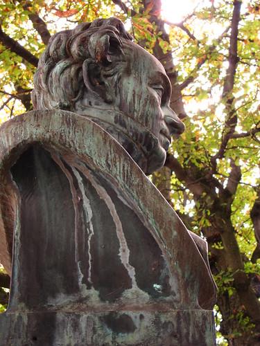 Freiburg Statue by Danalynn C