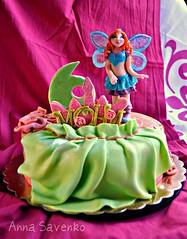 WINX Bloom (anna savenko (sVeshti4ka)) Tags: cake girly fairy bloom winx cakw girlycake winxcake