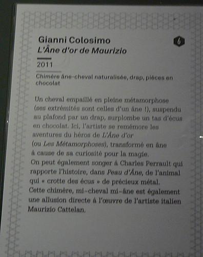 l'âne d'or de Maurizio, explications.jpg
