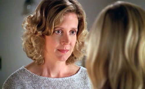 Joyce from Buffy the Vampire Slayer, looking like a concerned parent.
