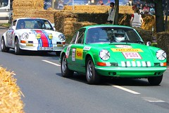 Porsche 911 RW2 No.568  and 911 Carrera RS (1969) No 218 (Transaxle (alias Toprope)) Tags: auto classic cars sports beautiful beauty car sport race racecar germany deutschland amazing european power stuttgart hamburg 911 engineering voiture racing historic grandprix event german coche porsche soul carros classics boxer carro alemania oldtimer bella autos veteran eleven macchina motorracing coches veterans sportscar stadtpark motorsport voitures carrera toprope porsche911 revival aircooled nineeleven macchine dreamcars elfer veteranen dreamcar sportcars 2011 zuffenhausen boxerengine 9car rearengine neuner bevelgears stuttgartzuffenhausen neunelf overheadcamshafts 9sport