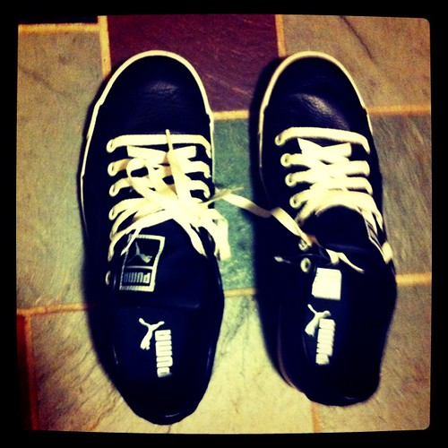 Size 10 shoes. (!)
